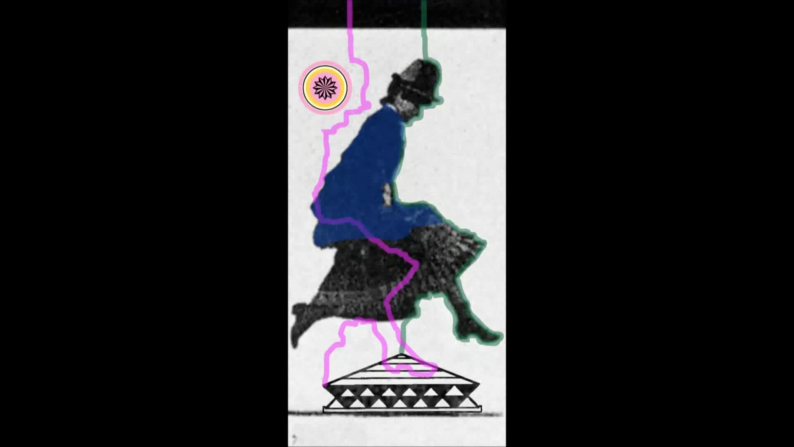 Mujer Guambian asaltando sobre kuarimpoto ● Hermann Yusty Rayo